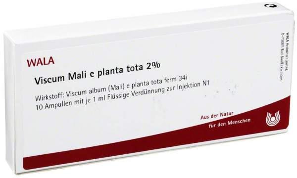 Viscum Mali E Planta Tota 2% Ampullen
