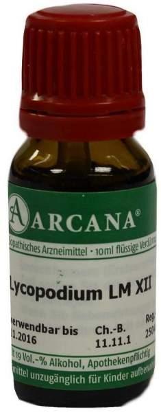 Lycopodium Arcana Lm 12 10 ml Dilution