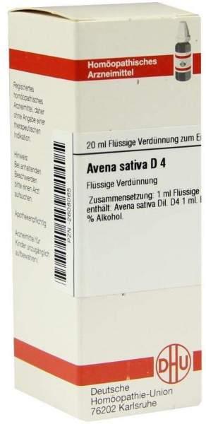 Avena Sativa D 4 Dilution
