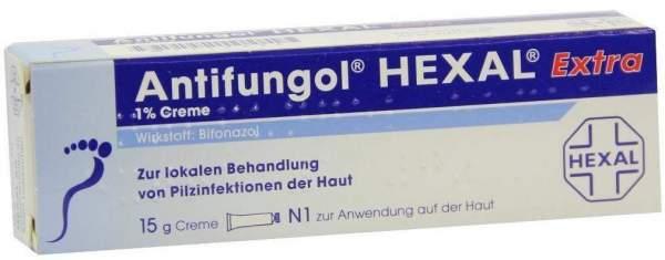 Antifungol Hexal Extra 1% 15 G Creme