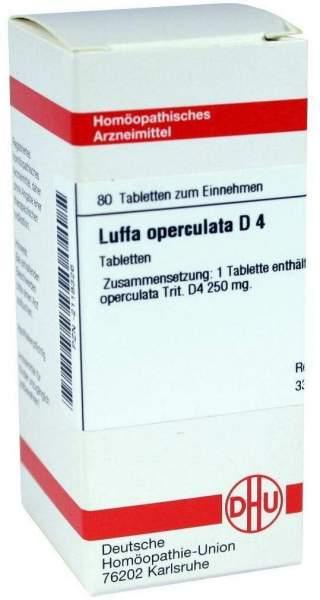 Luffa Operculata D4 80 Tabletten