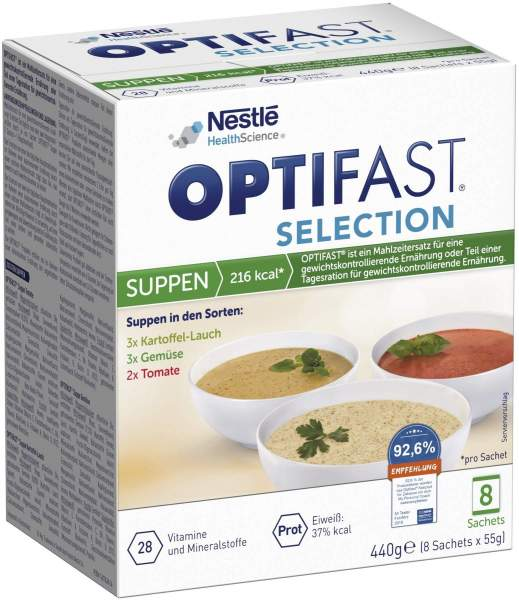 Optifast Selection Suppen 8 x 55 g