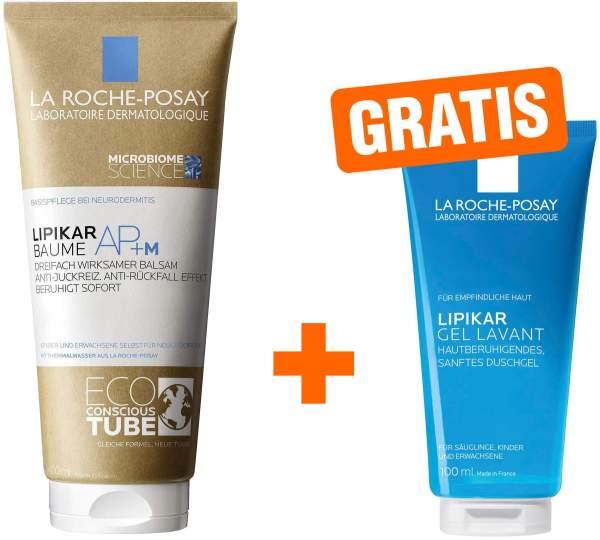 La Roche Posay Lipikar Baume AP+ M Eco Tube 200 ml Balsam + gratis Lipikar Gel Lavant 100 ml