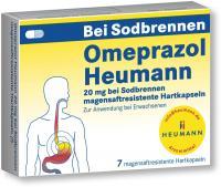 Omeprazol Heumann 20mg bei Sodbrennen Magensaftr.Hartk