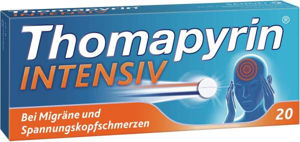 Thomapyrin Intensiv 20 Tabletten