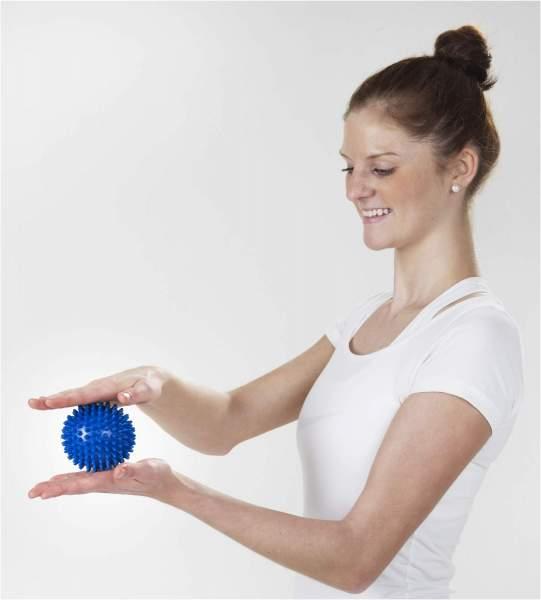 Massage Ball hart 2er Set 7,5 & 9cm