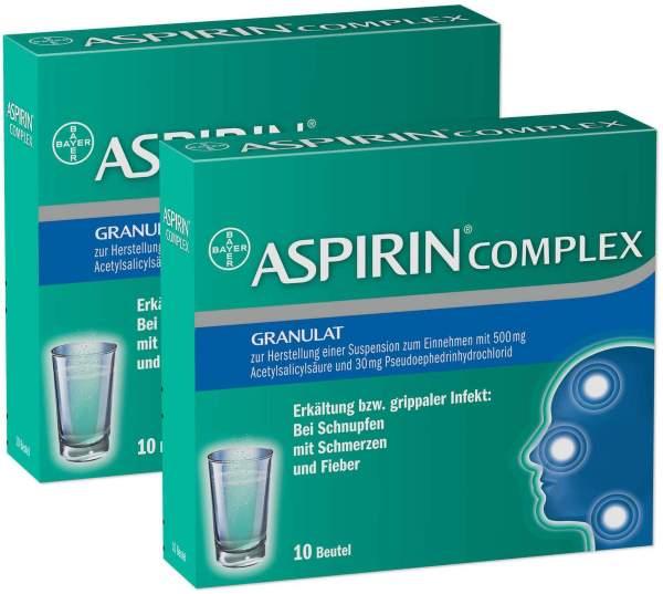 Aspirin Complex 2x10 Beutel Granulat