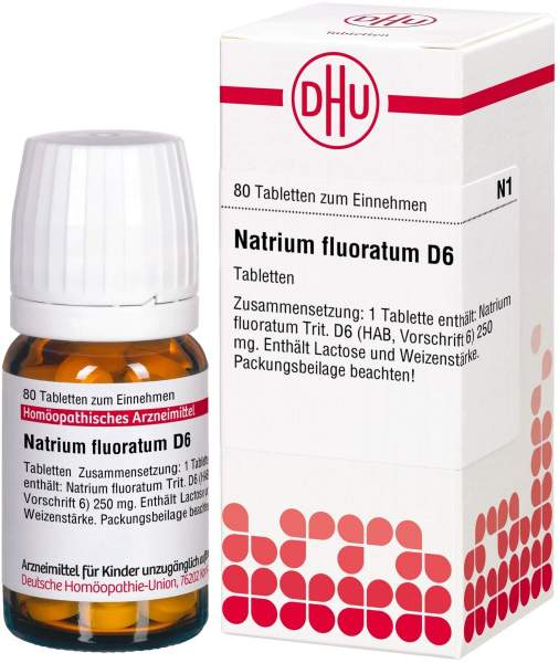 Natrium Fluoratum D 6 80 Tabletten