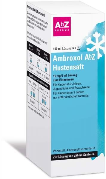 Ambroxol Abz Hustensaft 15mg Pro 5 ml 100 ml Lösung zum Einnehmen