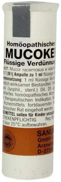 Mucokehl Ampullen D 5 1 X 1 ml Ampullen