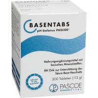 Basentabs Ph Balance Pascoe Tabletten 200 Stück