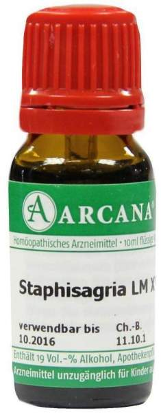 Staphisagria Arcana Lm 18 Dilution 10ml