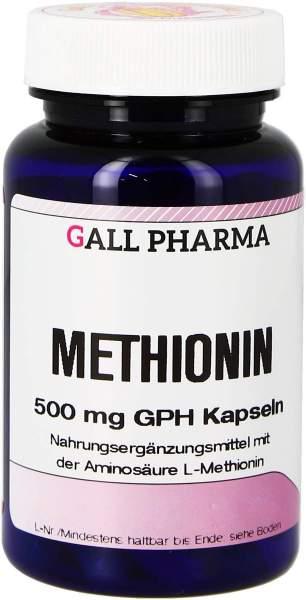 Methionin 500 mg Gph 180 Kapseln