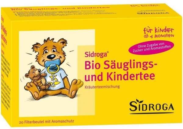 Sidroga Bio Säuglings- und Kindertee 20 Filterbeutel