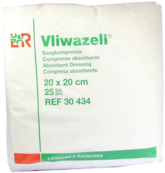 Vliwazell Kompressen 20 X 20 cm Unsteril 25 Kompressen