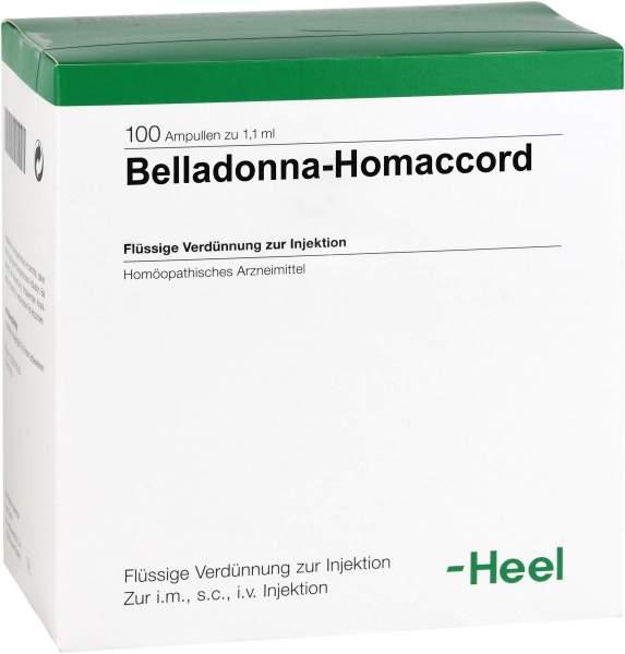 Belladonna Homaccord Ampullen 50 Ampullen