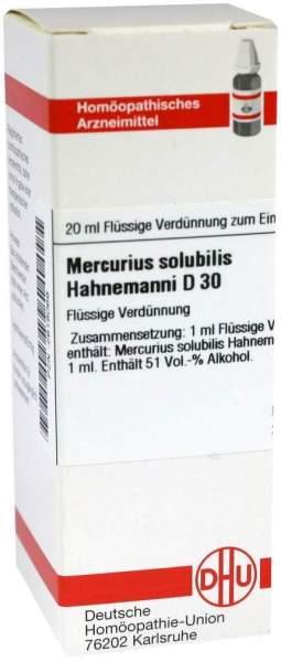 Dhu Mercurius Solubilis Hahnemanni D30 Dilution