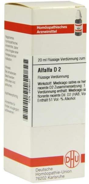 Alfalfa D 2 Dilution