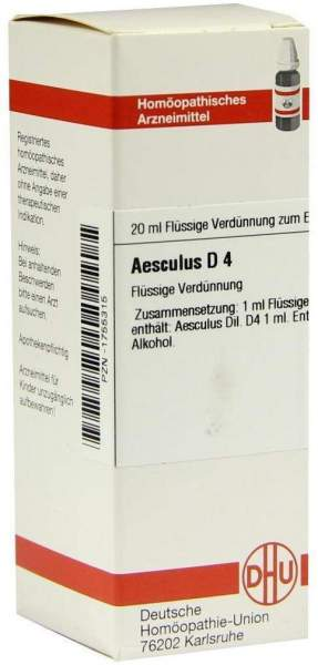 Aesculus D4 20 ml Dilution