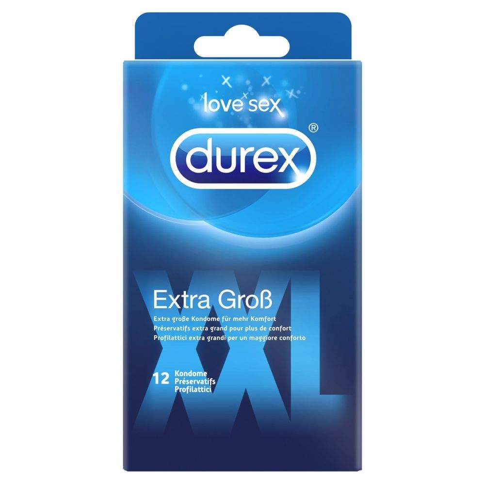 Durex extra Groß 12 Kondome
