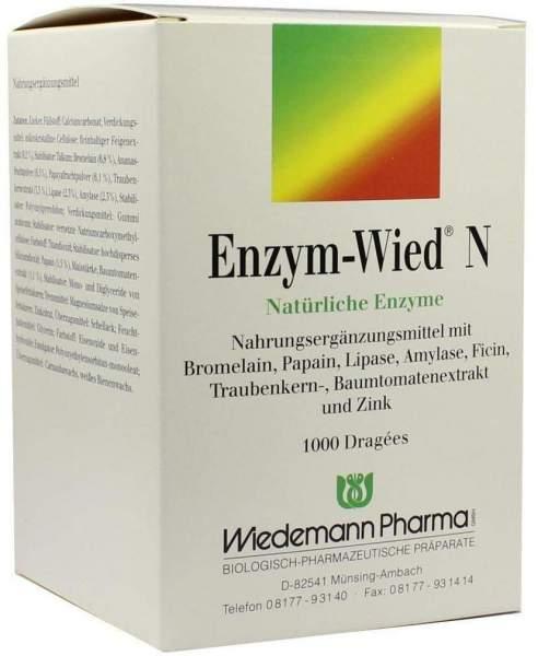 Enzym Wied N 1000 Dragees