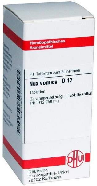 Nux Vomica D 12 80 Tabletten