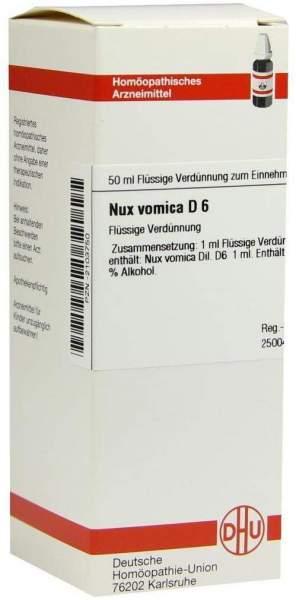 Nux Vomica D 6 50 ml Dilution