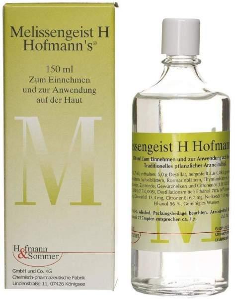 Melissengeist H Hofmanns Tropfen 150 ml Tropfen