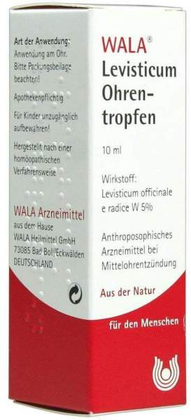 Levisticum Ohrentropfen 10 ml Ohrentropfen