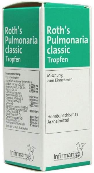 Roths Pulmonaria Classic 100 ml Tropfen