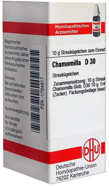 Chamomilla D30 10 G Globuli