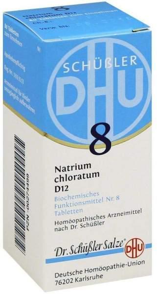 Schüßler Dhu 8 Natrium Chloratum D 12 80 Tabletten