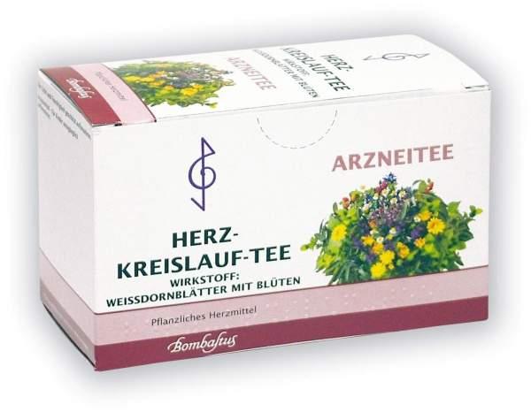 Herz Kreislauf Tee Filterbeutel 20 Filterbeutel