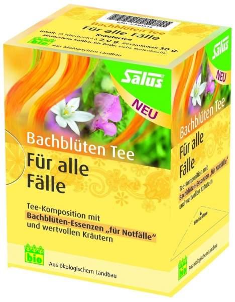 Bachblüten Tee Für alle Fälle 15 Filterbeutel