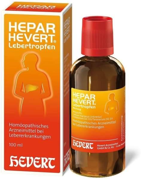 Hepar Hevert 100 ml Lebertropfen