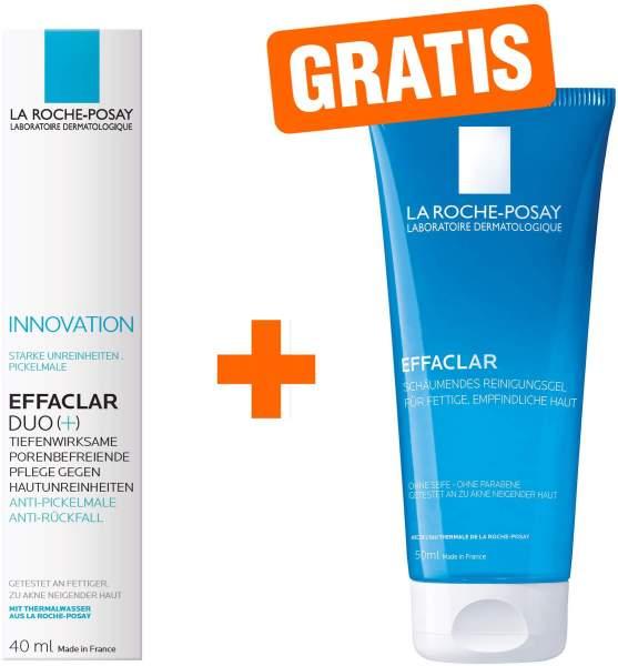 La Roche Posay Effaclar Duo+ Creme 40 ml + gratis Effaclar Gel 50 ml Mini