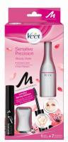 Veet Sensitive Precision Beauty Styler 1 Stück + gratis Manhattan Brow Tastic Augenbrauengel