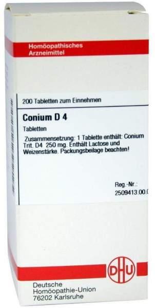 Conium D 4 200 Tabletten