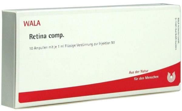 Retina Comp. Ampullen 10 X 1 ml