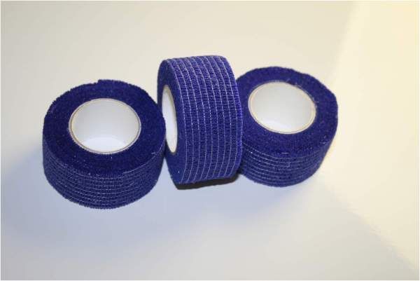 Elastische-Binde Digit-Collod -Latexfrei blau