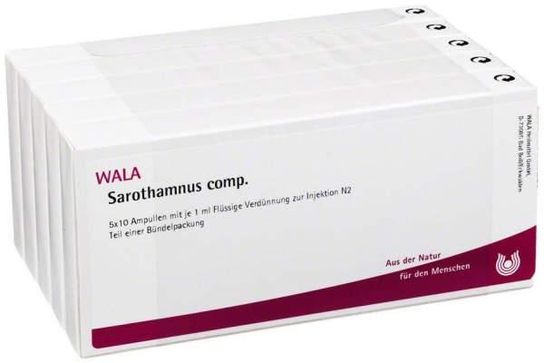 Sarothamnus Comp. Ampullen 50 X 1 ml
