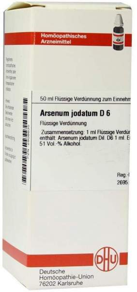 Arsenum Jodatum D 6 Dilution