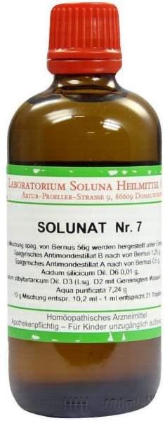 Solunat Nr.7 100 ml Tropfen