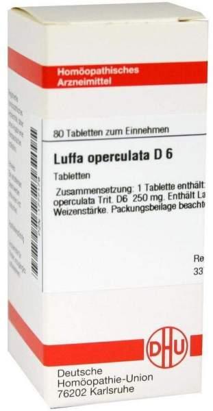 Luffa Operculata D 6 80 Tabletten