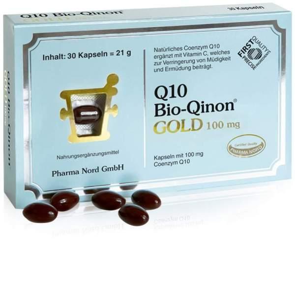 Q10 Bio Qinon Gold 100 mg 30 Kapseln