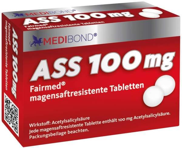 ASS Medibond 100 mg 100 magensaftresistente Tabletten