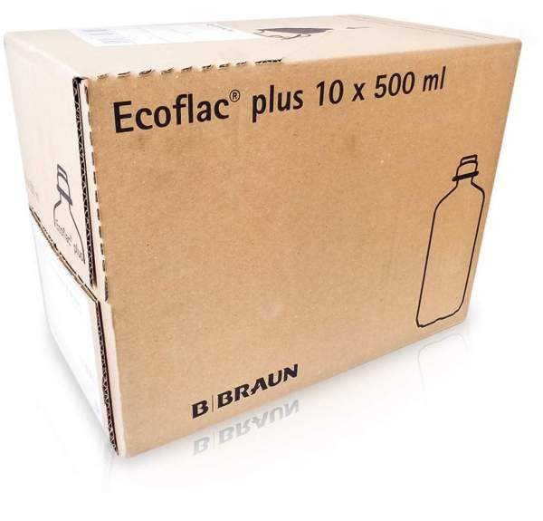 Ringer Lösung B.Braun Ecoflac Plus 10 X 500 ml Infusionslösung