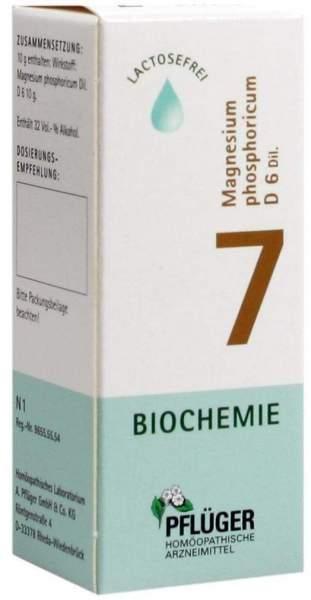 Biochemie Pflüger 7 Magnesium Phosphoricum D6 30 ml Tropfen