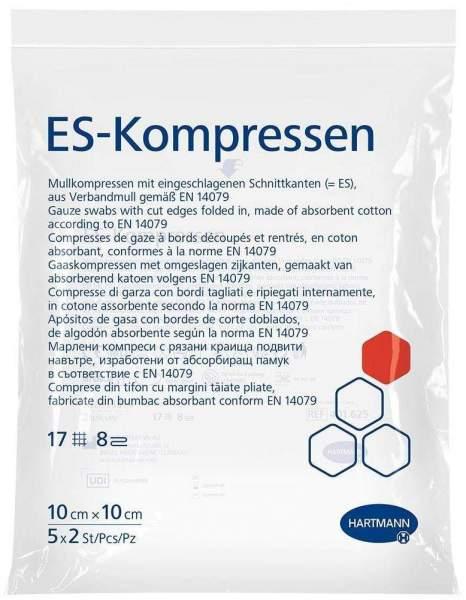 ES-Kompressen steril 10 x 10 cm 5 x 2 Stück