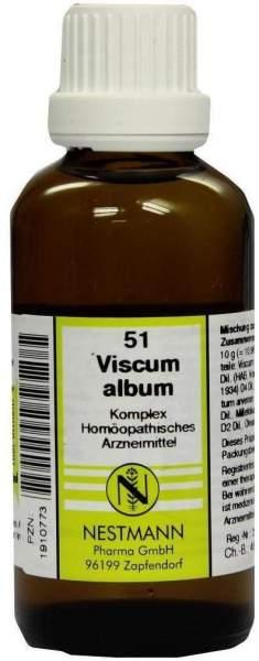 Viscum Album Komplex Nr. 51 50 ml Dilution